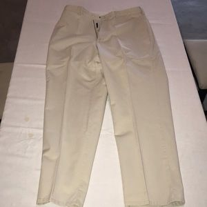 Light tan men's Polo chinos or kakis